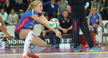 Volley, Champions donne: Novara, che batosta a Sopot