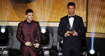 Messi Ronaldo, AFP
