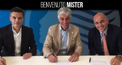 Atalanta, ufficiale: Gasperini è il nuovo allenatore