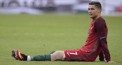 Portogallo: Cristiano Ronaldo, lesione al collaterale interno del ginocchio