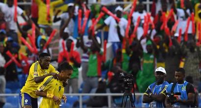 Coppa d'Africa 2017: Aubameyang non basta al Gabon, 1-1 con la Guinea Bissau