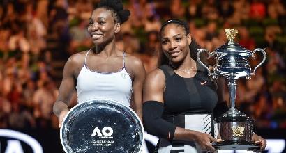 """Tennis, Serena: """"Senza Venus non avrei vinto 23 Slam"""""""