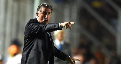 Inter, il ct dell'Argentina Bauza incontra Icardi ad Appiano