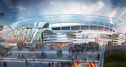 Roma, ottimismo sul nuovo stadio