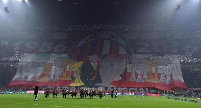 """Milan, la Curva Sud: """"Grazie di tutto Presidente Berlusconi"""""""