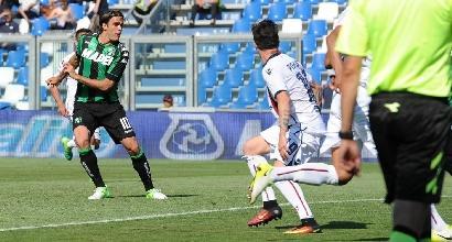 Sassuolo show: 6-2 al Cagliari
