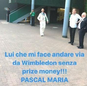 Tennis: Fognini sui social torna alla carica contro Pascal Maria