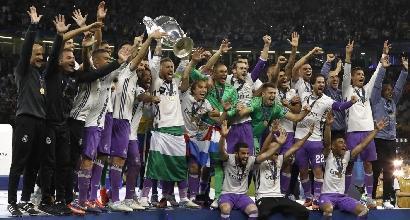 Ranking Uefa per club, comanda il Real Madrid: Juventus prima delle italiane