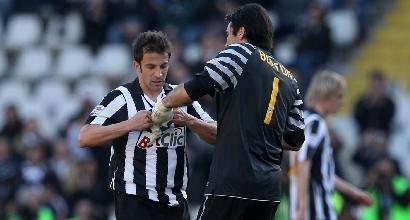 """Del Piero: """"Fatico a comprendere le parole di Buffon"""""""