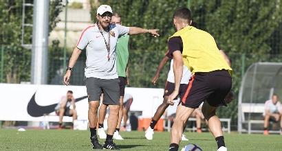 """Roma, Di Francesco pungola il Flaco: """"Pastore deve conquistarsi il posto ma mi piace come ha iniziato"""""""