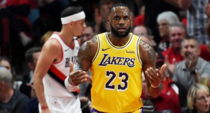 NBA: Belinelli aiuta gli Spurs contro i Pelicans. I Lakers di James battono Portland