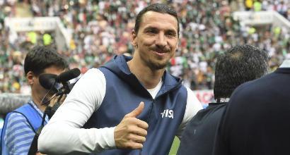 """Ibra stuzzica il Milan: """"Wenger? È più probabile il mio ritorno"""""""