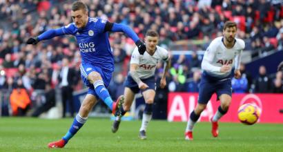 Tottenham-Leicester, che figuraccia per Jamie Vardy