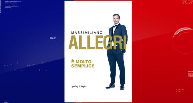 """Juventus, le 32 regole del libro di Allegri: """"È molto semplice"""""""