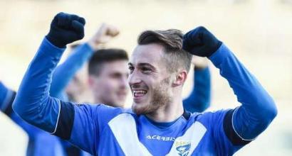 Serie B: il Brescia abbatte la Salernitana, il Lecce gli risponde, solo pari per il Palermo