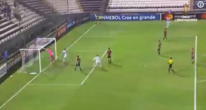 Copa Libertadores: l'incredibile gol subito dal portiere del Palestino