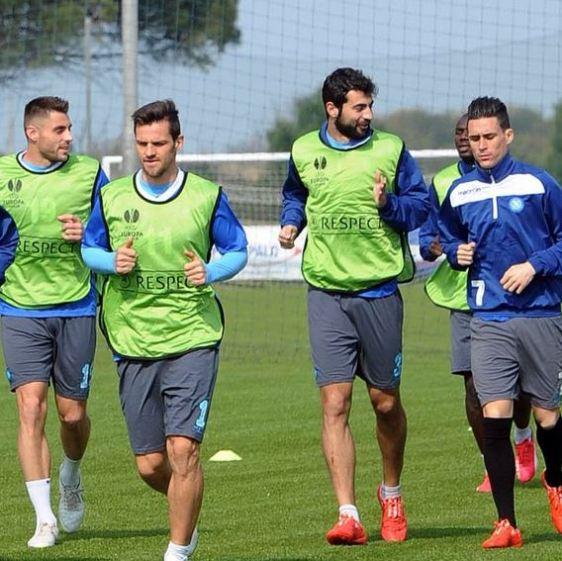 Napoli, testa alla Dinamo Mosca