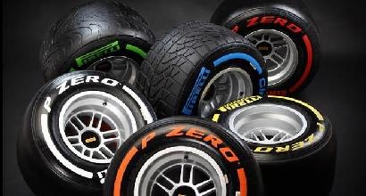 Le gomme Pirelli 2013