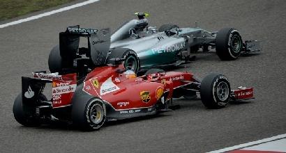 Alonso e Rosberg (Afp)
