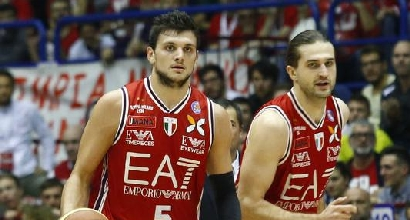 Basket, Serie A: Milano spaziale, Reggio Emilia demolita