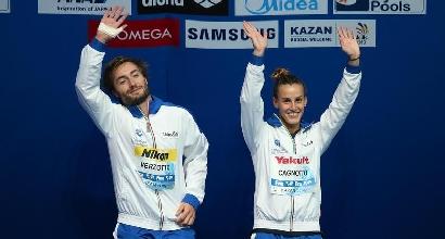 Nuoto, Mondiali Kazan: tris Cagnotto, bronzo con Verzotto