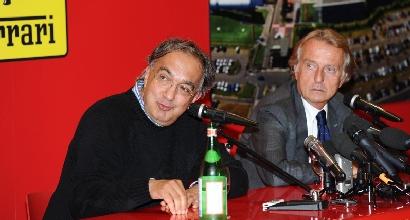 Marchionne e Montezemolo (LaPresse)
