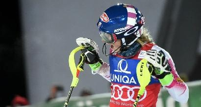 Sci, Zagabria: Shiffrin inforca, fuori dopo quattro anni in slalom. Vince Zuzulova