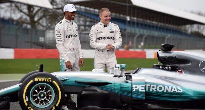 Hamilton e Bottas, Foto da Twitter