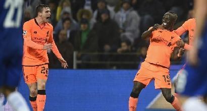 Champions League, andata ottavi: Liverpool senza freni, 5 gol al Porto