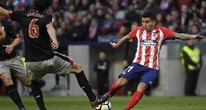 Liga: Gameiro e Diego Costa fanno volare l'Atletico