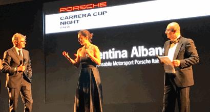 """Valentina Albanese: """"Vettura competitiva e sempre più team, ottima risposta per la Carrera Cup"""""""