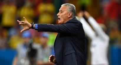 """Brasile, Tite attacca l'arbitro: """"Sul gol della Svizzera fallo evidente su Miranda"""""""