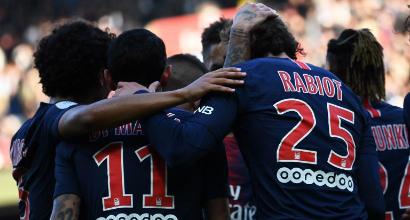 Ligue1, il Psg avverte il Napoli: travolto l'Amiens