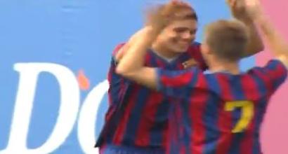 Il Barça aspetta Icardi, il video dei suoi gol in blaugrana: di testa segnava già come nel derby