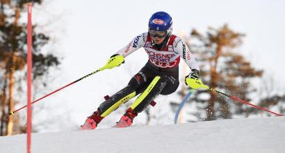 Sci, la Shiffrin vince lo slalom di Levi