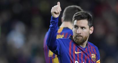 Liga: il Barcellona vince e Messi fa 400 in Liga, Atletico e Real Madrid rispondono