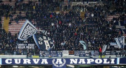 Napoli-Torino, il San Paolo resta vuoto: è record negativo