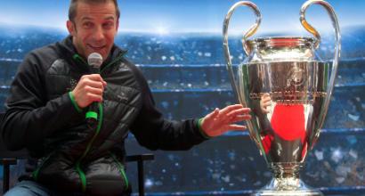 """Del Piero: """"Questa Juve sta facendo la storia, la Champions arriverà"""""""