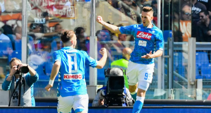 Serie A: la Roma crolla col Napoli