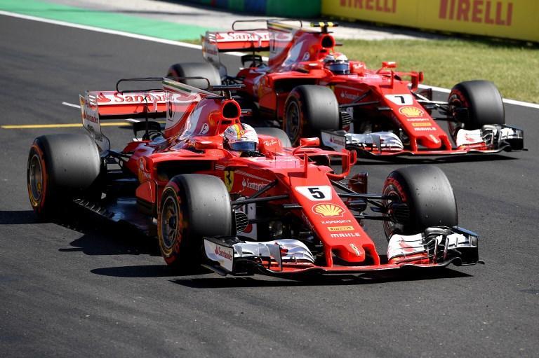 Ungheria, delirio Ferrari