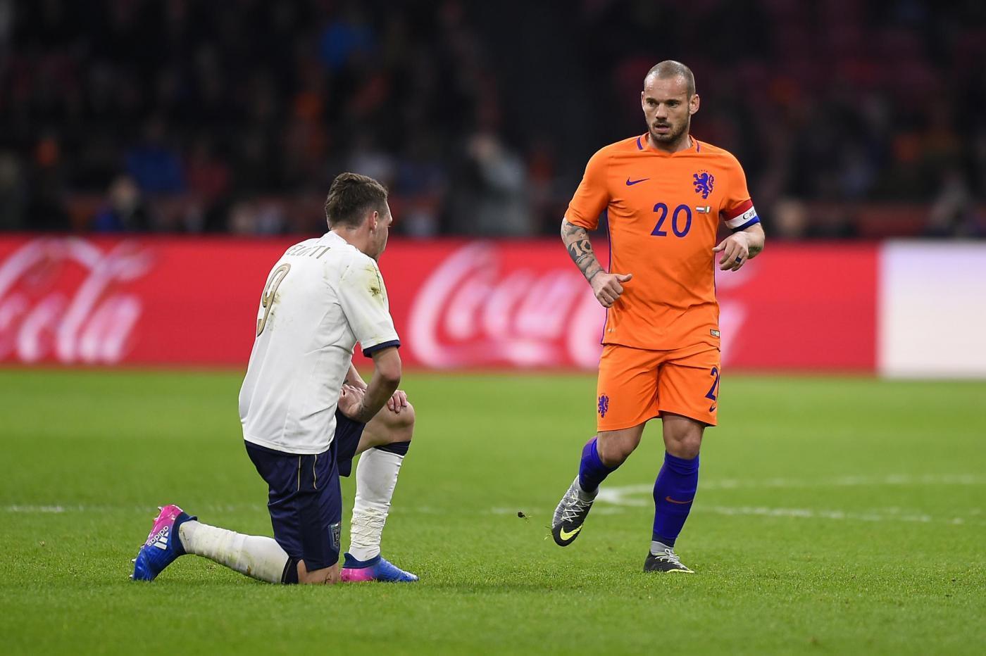 Sneijder darà l'addio all'Olanda in Nations League.