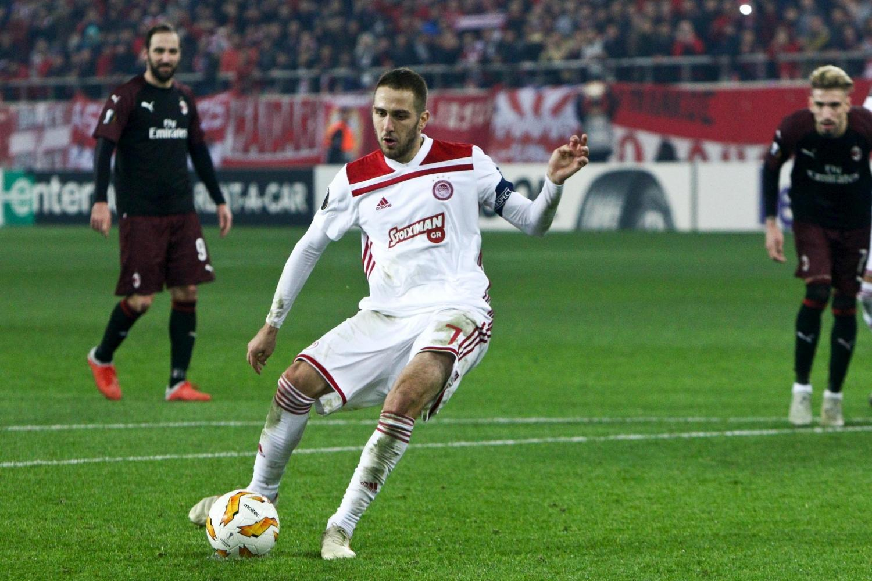 E. League, Olympiacos-Milan 3-1: le foto