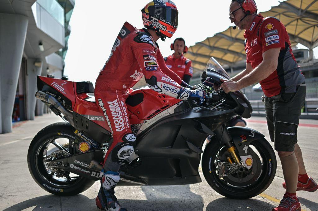 MotoGP, Ducati padrona dei test di Sepang