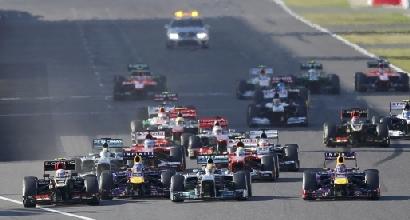 La partenza del GP del Giappone (Reuters)