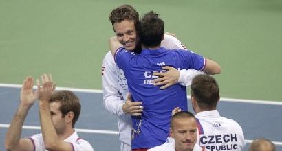 Berdych e Stepanek (Reuters)