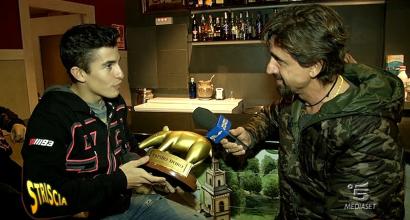 """Tapiro d'oro a Marquez: """"Rossi? Mi piacerebbe dire che siamo amici"""""""