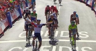 Vuelta 2016, 7a tappa: vince Van Genechten, cade Contador