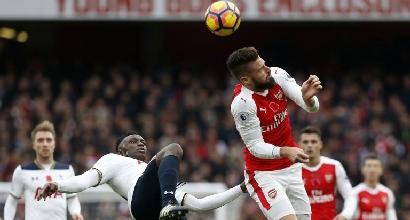 Daily Mirror: Giroud potrebbe lasciare l'Arsenal a Gennaio