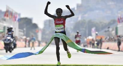 Atletica, la campionessa olimpica di maratona Sumgong positiva all'Epo
