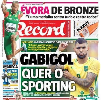 """Inter, Gabigol verso lo Sporting. L'agente: """"Ci lavoriamo"""""""